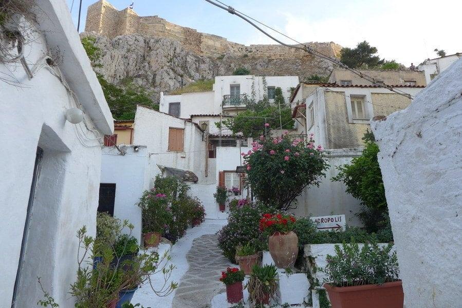 wyspa pod akropolem