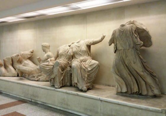 Wystawa na stacji metra Akropolis