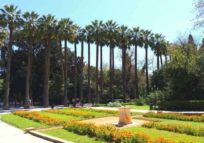 ogród narodowy ateny