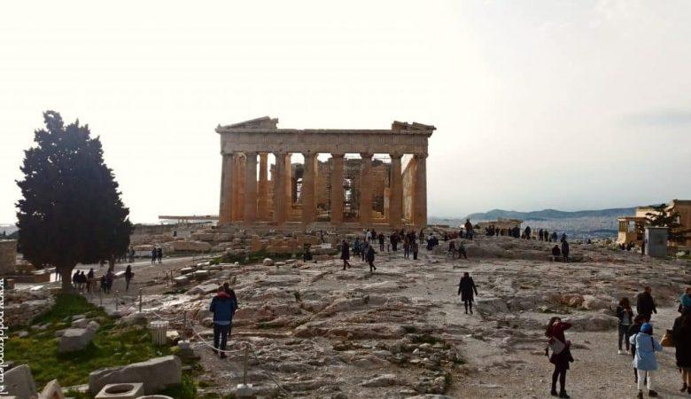 wzgórze akropolu