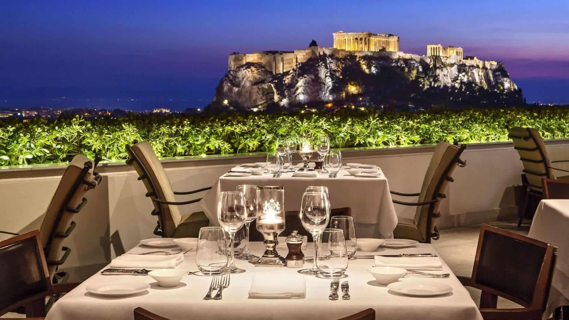 kolacja akropol