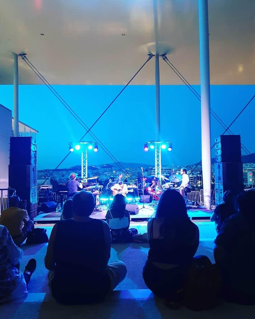 Koncert w Stavros Niarchos